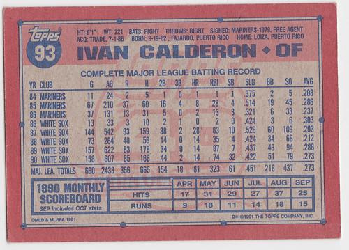 Exp - Ivan Calderon - Back