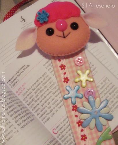 Marcador De Página | Bookmark by Sil Artesanato