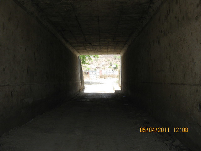 In the Grand Tunnel under Mumbai Bangalore Bypass to Grand Stand, Kothrud Pune