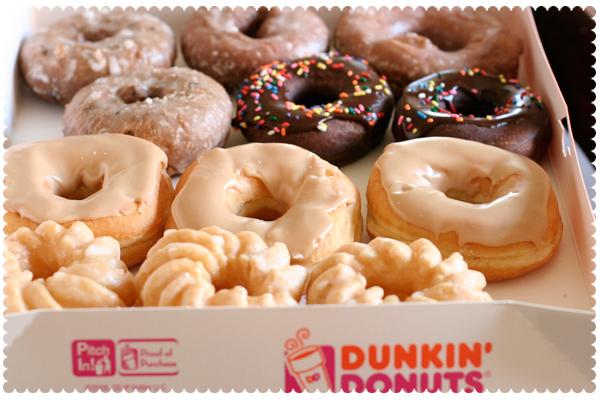 Dunkin' Donut Dozen