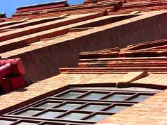 Murphy & Son Ltd of Basford, Nottingham (Lady Wulfrun) Tags: nottingham windows building victorian façade redbrick princeofwalesbrewery murphysonltdofbasford