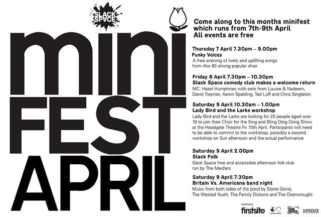 April Mini-Fest