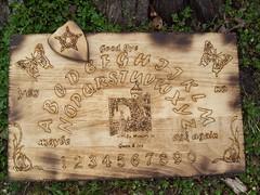Custom Crafted Ouija (dragonoak) Tags: custom ouijaboard