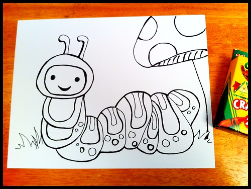 Happy Caterpillar