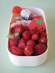 Lato dolce: fragoline di bosco e ovini Kinder