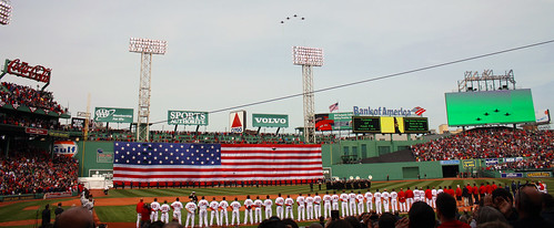 Boston Red Sox Opening Day at Fenway Park 2011