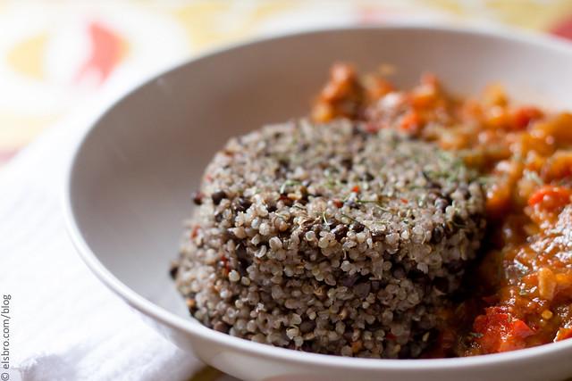 Quinoa & Lentils