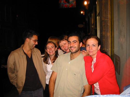 Rocio, Aitziber, Carlos, Maria