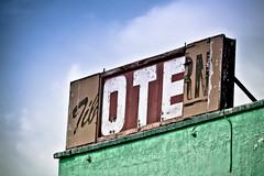 Hotel (Sharon Drummond) Tags: sign hotel tavern tilbury disrepair odc theotherside dailyshoot ourdailychallenge scavengechallenge scavchal ds511