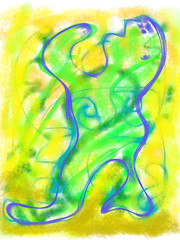 Beseeching 2011.04.10 (Julia L. Kay) Tags: sanfrancisco woman art mobile female club digital sketch san francisco artist arte julia kunst kay daily dessin peinture 365 everyday dibujo app touchscreen artista mda fingerpaint artiste knstler iart ipad isketch mobileart idraw juliakay julialkay iamda mobiledigitalart fingerpainterouchdigitalmdaiamdamobile sketchclubapp sketchclubapponly artmobiletouchscreenfingerpaintfingerpainteryellowgreenbluebeseechingthreateninggesticulatingsketchclubsketchclubappsketch