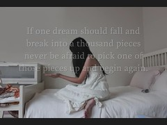 Day 124/365 ~ If One Dream should Fall and Break into a Thousand Pieces, Never be Afraid to Pick One of those Pieces up and Begin Again (Amanda Mabel) Tags: winter light sun moon white mist tree cup water girl rain yellow wall clouds forest painting paper stars book boat fly photo chalk bed bedroom chair day ray dress heart crane smoke dream picture craft move brush blow 124 galaxy flip raindrops imagination lightning 365 splash dust float paintbrush stopmotion explosionsinthesky yourhandinmine amandamabel ifonedreamshouldfallandbreakintoathousandpiecesneverbeafraidtopickoneofthosepiecesupandbeginagain