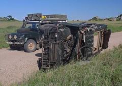 Wrecked Landy, Serengeti 2