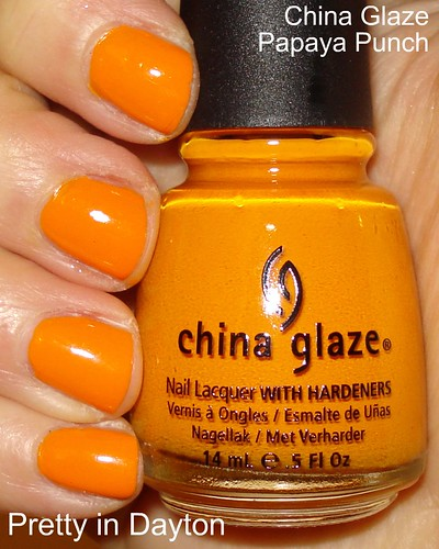 China Glaze - Papya Punch