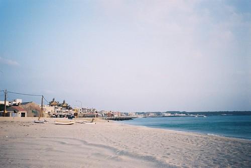 澎湖蒔裡沙灘擁有寧靜美麗的景致。攝影:Jude Lin