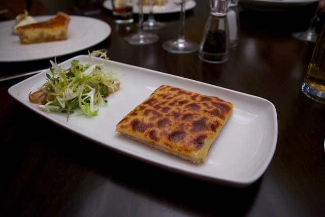 Dessert: Welsh Rarebit