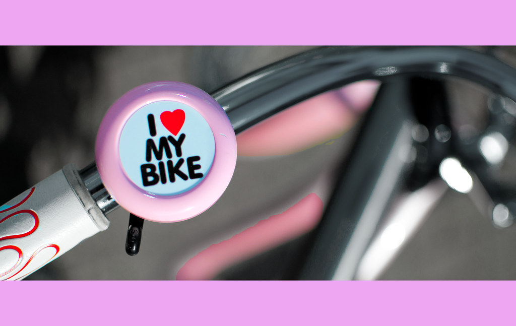 I love my bike (for the girls)