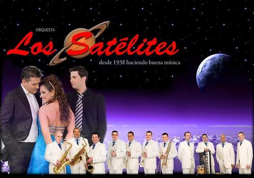 Los Satélites 2010 - orquesta - cartel web