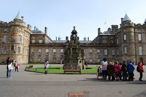 Hollyrood Palace, the Queen's Summer Home