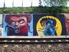 alln2gthr (Fat Heat .hu) Tags: wall graffiti paint spraycanart rollup trainline cfs coloredeffects fatheat