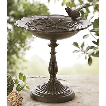 Tabletop Birdbath