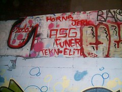 (->DestructionBringer<-) Tags: california graffiti horns funeral elite norcal northern asg legal jerk 2010 northbay 2011 htd funer tekn