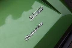 De Tomaso Mangusta, badge & logo detail, c1970 (Chappells10) Tags: cars ford car bristol unfound classiccars thoroughbreds sportscars supercars carpics detomaso carphotos italiancars americanclassiccars fordpower worldcars detomasomangusta canoneos5dmkii
