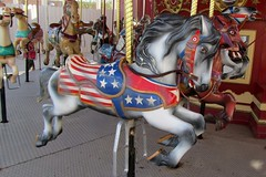 Patriot Horse (BarryFackler) Tags: park vacation arizona horses horse southwest cowboy ride unitedstates desert flag carousel patriotic amusementpark merrygoround wildwest themepark starsandstripes equine starspangledbanner usflag oldglory oldwest americansouthwest oldtucson 2011 oldtucsonstudios pimacounty barryfackler barronfackler