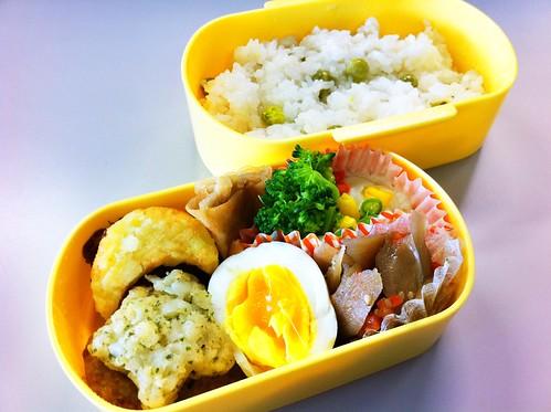 今日のお弁当 No.150 – お豆ごはん