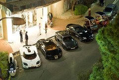 Peraves MonoTracer, Koenigsegg CCX, Bugatti Veyron Sang Noir, Noble M600, McLaren Gemballa SLR Roadster EXPLORED! (piolew) Tags: slr night photography long exposure noir darkness shot nightshot top monaco explore mclaren bugatti marques sang spotting koenigsegg noble combo veyron roadster gemballa ccx 2011 m600 explored