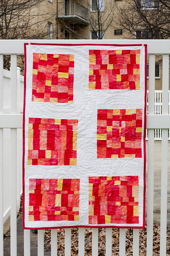 Experiment Quilt - Finished