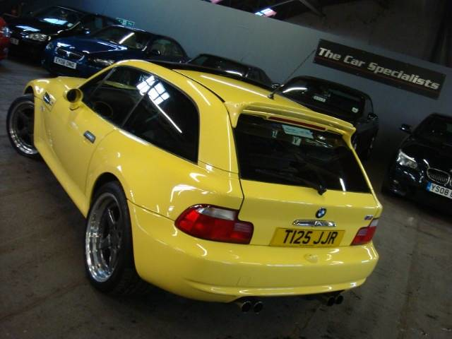 1999 M Coupe Dakar Yellow Black Coupe Cartelcoupe Cartel