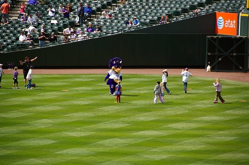 Dinger, the Rockies Mascot