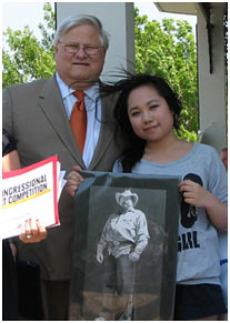 Creekview Student Wins First Place at Congressional Art Competition