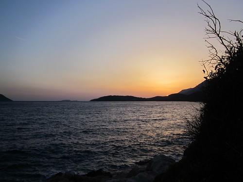Sunset at Kaş