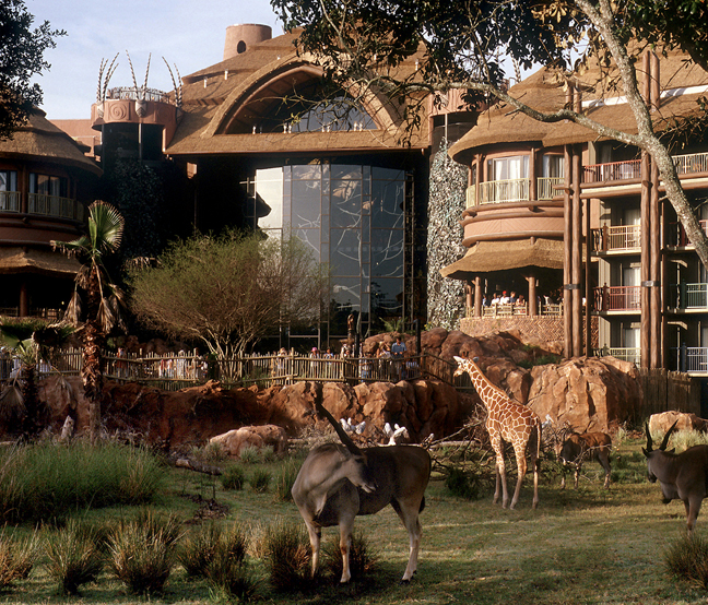 Disney's Animal Kingdom Lodge Earns Four Diamond Status