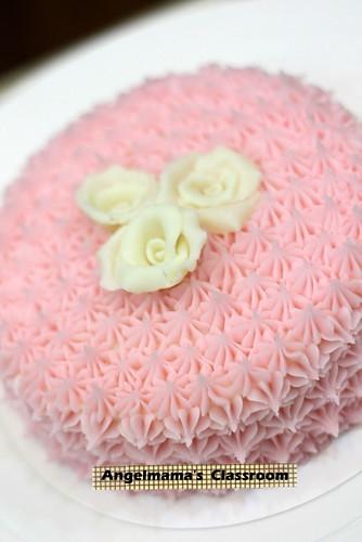 天使媽媽蛋糕皂教學 026