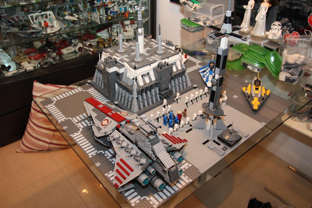 Moc Jedi Temple Coruscant Lego Star Wars Eurobricks