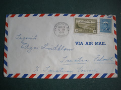 1948 letter from Canada
