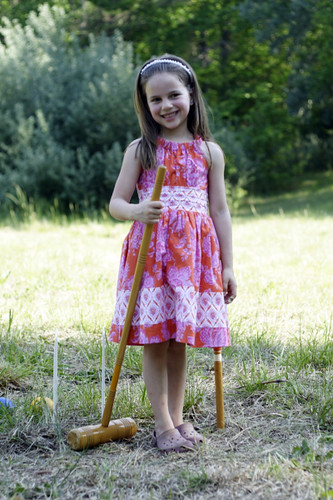 Aria wins Easter Croquet