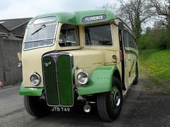 0088-JTB749-AEC Regal III-Florence Motors(Cumbria Classic coaches) (day 192) Tags: bus buses regal brough aec preservedbus aecregal cumbriaclassiccoaches jtb749 florancemotors kirkbystephenclassiccommercialvehiclerally