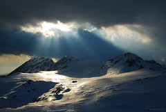 Tevno ezero refuge, Pirin mountain, Bulgaria,   (.:: Maya ::.) Tags: winter sunset mountain snow nature landscape bulgaria  pirin   ezero     tevno  mountainsnaps mayaeye mayakarkalicheva   wwwmayaeyecom