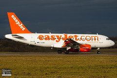 G-EZBW - 3134 - Easyjet - Airbus A319-111 - Luton - 110117 - Steven Gray - IMG_8071