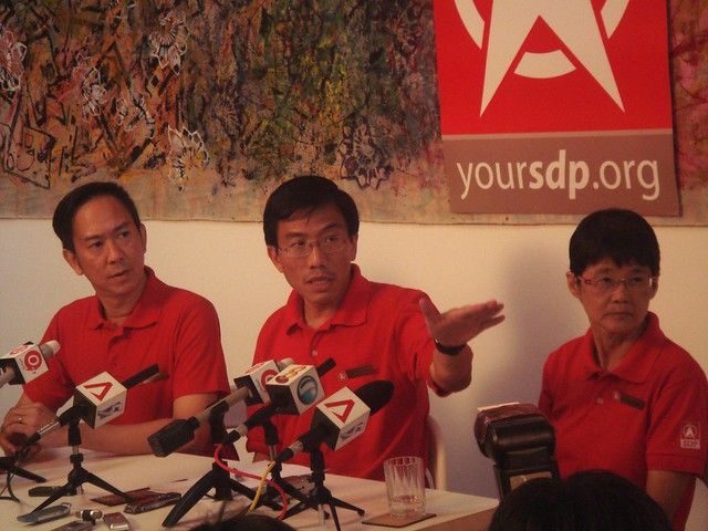 SDP Press Conference 25th APR