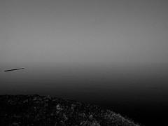 OUT ON THE HORIZON & FADING AWAY (hobokollektiv | llooqo) Tags: sea blackandwhite meer northsea nordsee schleswigholstein ryanadams hiatus helgoland hobokollektivnet