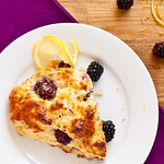 Blackberry-Lemon Scones