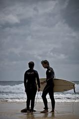 Lifestyle (2). (jcof) Tags: color men beach portugal water mar mujer agua women couple surf pareja playa lagos algarve hombre beliche