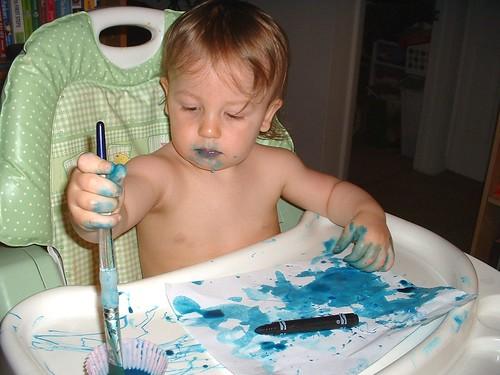 blue paint 04-27-11 1