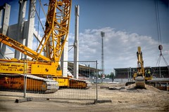 Baustelle! (Batram) Tags: berg hessen bank stadion offenbach ofc kickers sparda bieberer