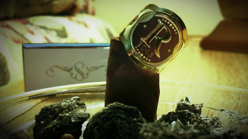 Another shot of the cigar remains. #Cigarfest @Pr0nphisher