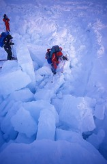 A big Pressure Ridge (Weber Arctic Expeditions) Tags: ice richard misha weber northpole frostbite arcticocean polarexpedition malakhov wardhuntisland fischerskis polarbridge polartraining capearkticheskiy dimitrishparo shparo